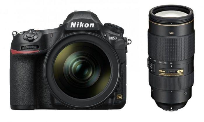 Nikon D850 + 24-120mm f4G ED VR + 80-400mm f4,5-5,6G ED VR