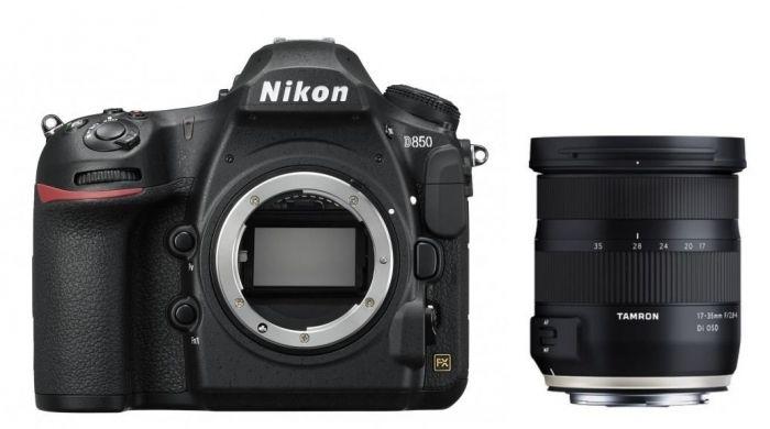 Nikon D850 Gehäuse + Tamron 17-35mm f2.8-4 Di OSD