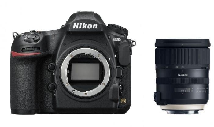 Nikon D850 + Tamron SP 24-70mm f2,8 Di VC USD G2