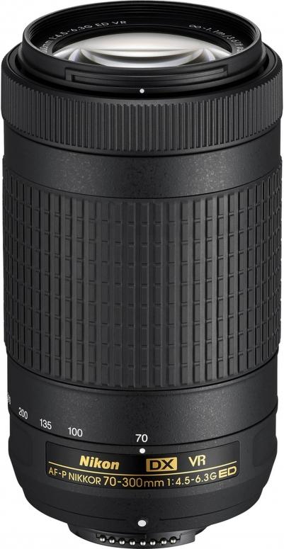 Nikon Nikkor AF-P DX 70-300mm f4,5-6,3G ED VR