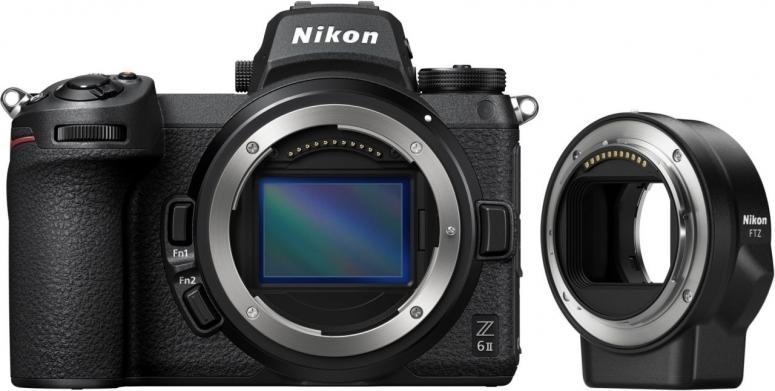 Nikon Z6 II + FTZ Bajonettadapter