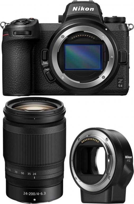 Nikon Z6 II + Z 24-200mm f4-6,3 VR + FTZ Bajonettadapter