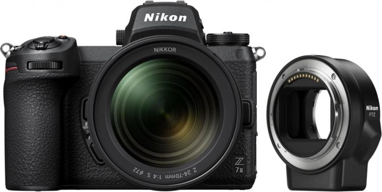 Nikon Z7 II + Z 24-70mm f4 + FTZ Bajonettadapter
