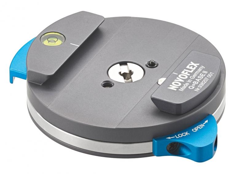 Novoflex Q=BASE II Schnellkupplung automatisch