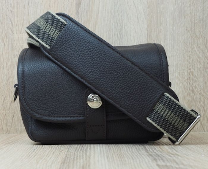 Oberwerth Tasche Charlie Rindleder dunkelbraun
