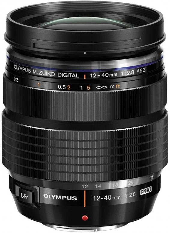 Olympus M.Zuiko Digital 12-40mm f2,8 ED schwarz PRO