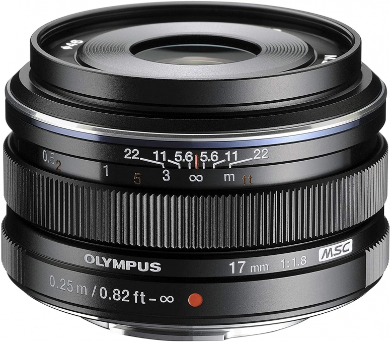 Olympus M.Zuiko Digital 17mm 1:1,8 schwarz