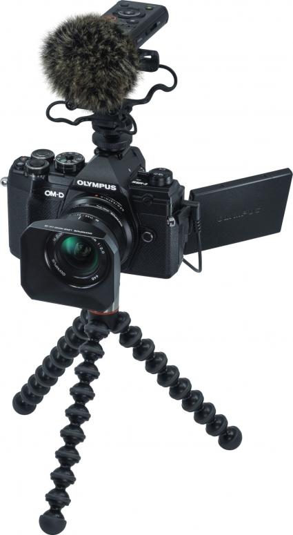 Olympus OM-D E-M5 Mark III Vlogger Kit Schwarz