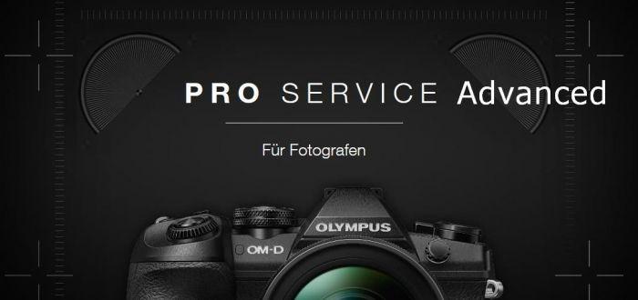 Olympus PRO SERVICE Paket Advanced 1 Jahr