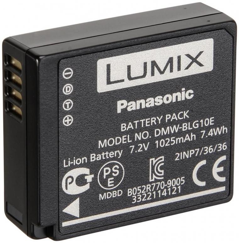 Panasonic Akku DMW-BLG10E