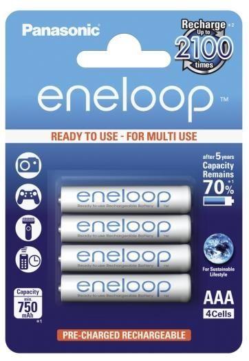Panasonic eneloop Akku AAA-Micro 4er-Pack
