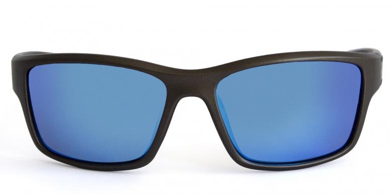 Primetta Back in Black Sport Sonnenbrille polarisierend grau