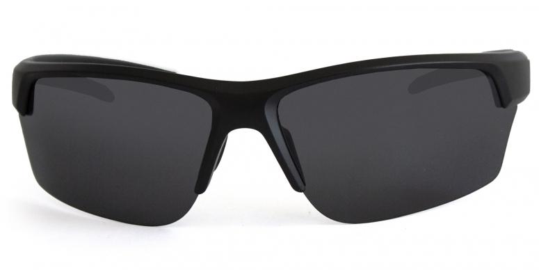 Primetta Back in Black sport Sonnenbrille polarisierend schwarz