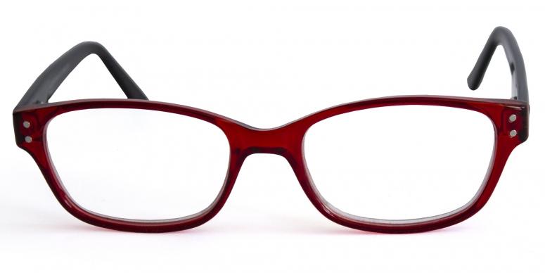 Primetta Basefield Lesehilfen 1,5dpt rot/schwarz