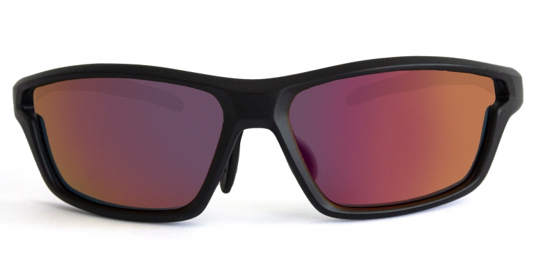 Primetta Mawaii Sport Sonnenbrille polarisierend Vollrand schwarz