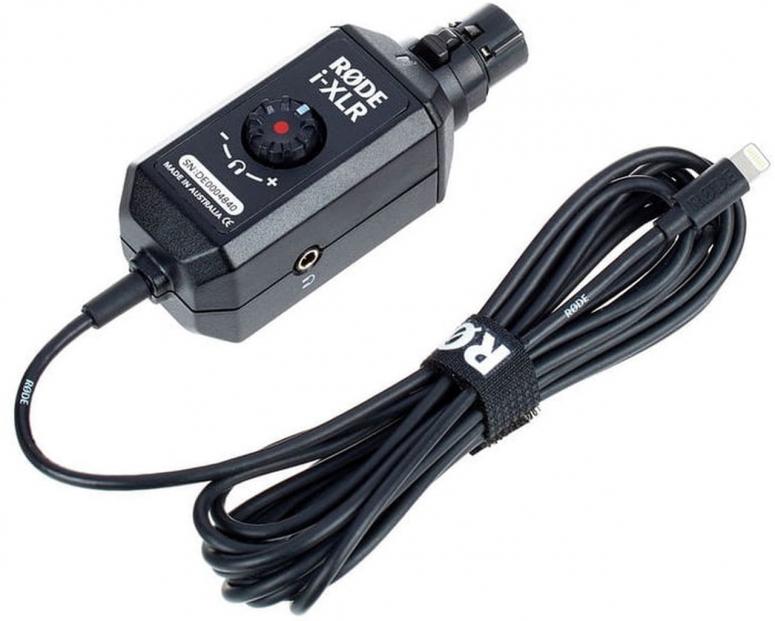 Rode i-XLR Aufsteckadapter für Kondensatormikrofone