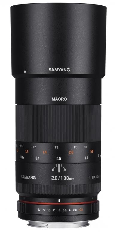 Samyang 100mm 1:2,8 ED Macro Canon