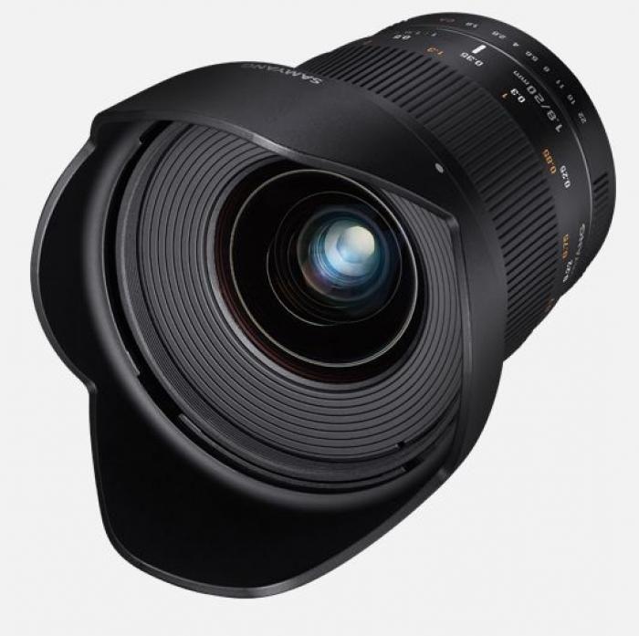 Samyang 20mm F1.8 ED AS UMC Canon M