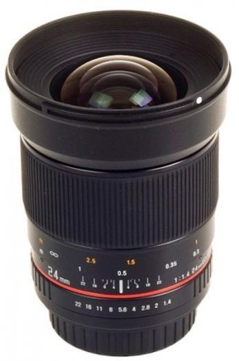 Samyang 24mm 1:1,4 Canon