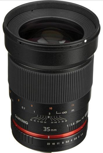 Samyang 35mm 1:1,4 Canon