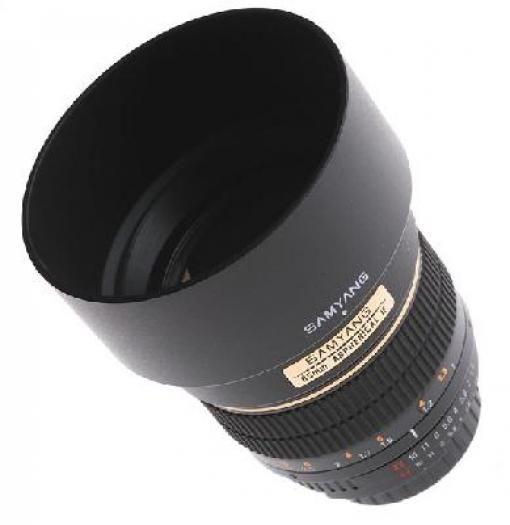Samyang 85mm 1:1,4 Canon