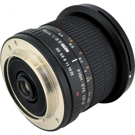 Samyang 8mm 1:3,5 CSII Canon