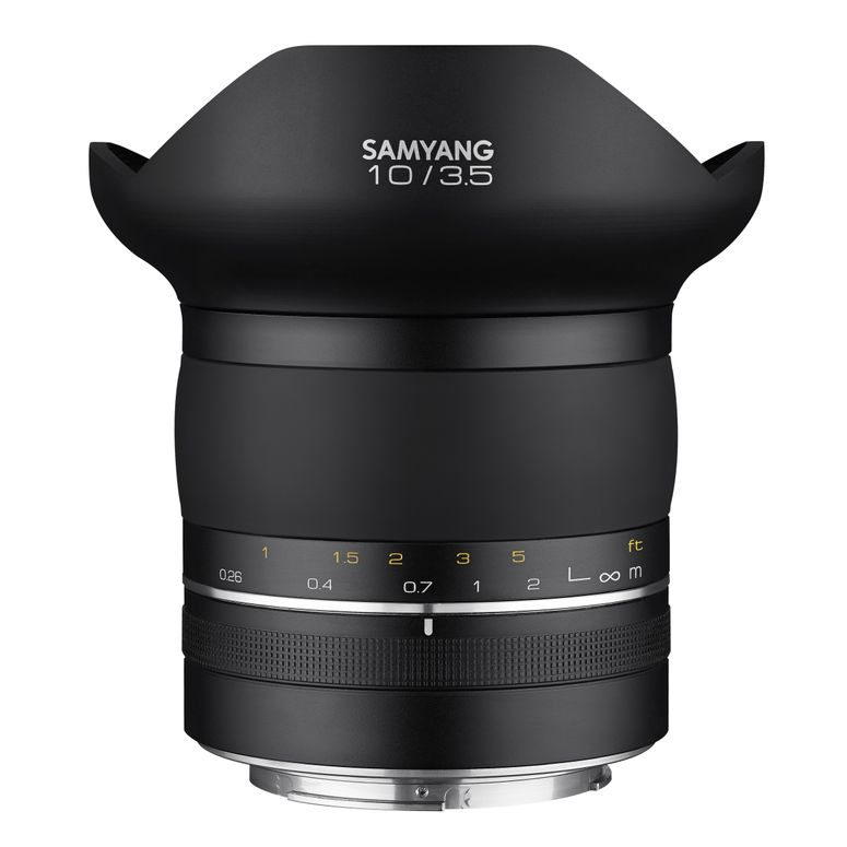 Samyang XP 10mm F3.5 Canon EF Manueller Fokus Ultra-Weitwinkelobjektiv