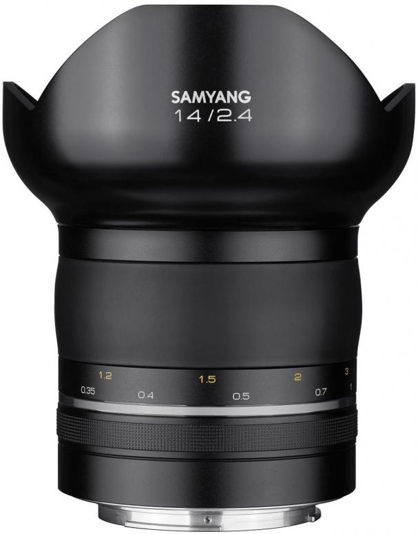 Samyang XP 14mm f2.4 Canon EF