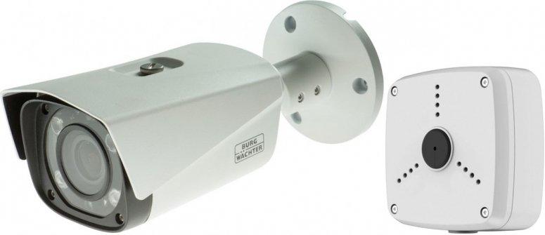 Burg Wächter SNC-421FBIA 4 Mp HD IP-Bulletkamera + MK4532 Anschlussbox