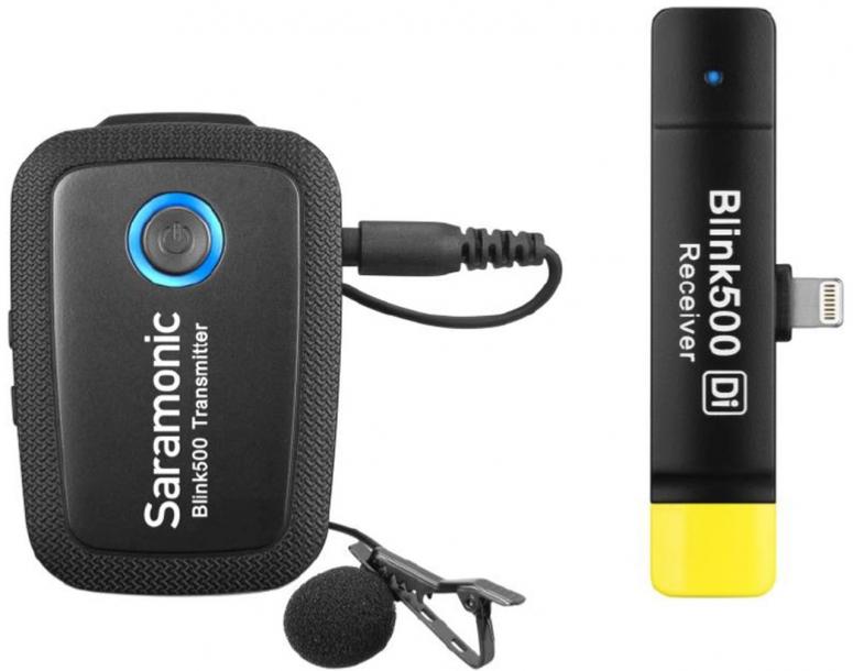 Saramonic Blink 500 B3 TX+RXDi Funkmikrofon System für Lightning