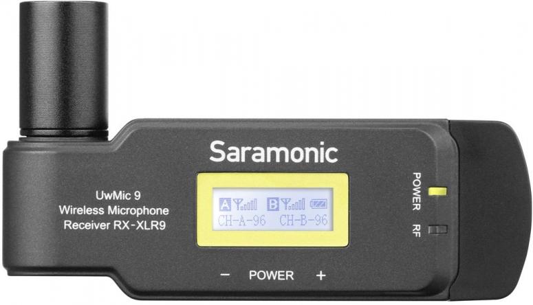 Saramonic UwMic9 Receiver für Funkmikrofon