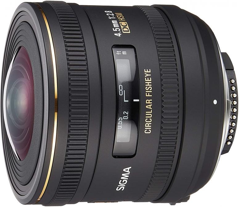 Sigma 4,5mm 1:2,8 EX HSM Nikon