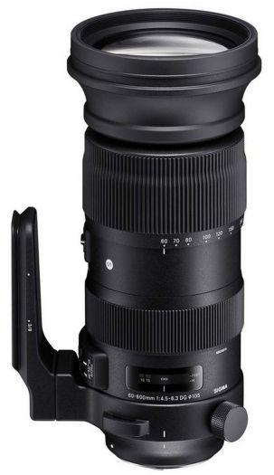 Sigma 60-600mm f4,5-6,3 DG OS HSM (S) Sigma