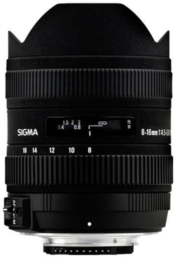 Sigma 8-16mm 1:4,5-5,6 DC HSM Sony AF