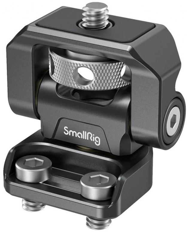 SmallRig 2904 Swivel & Tilt Monitorhalterung mit zwei 1/4 Schrauben