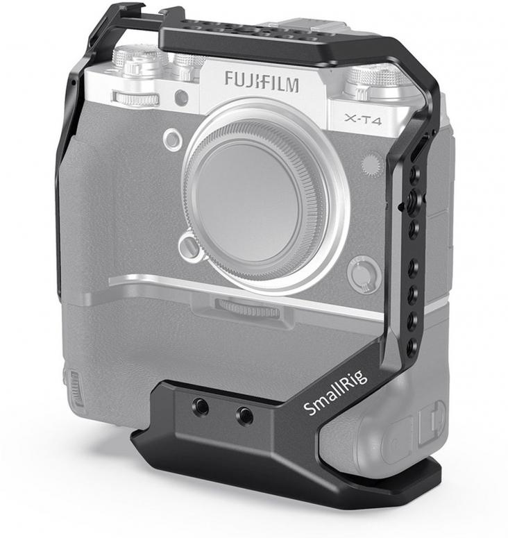 SmallRig CCF2810 Cage für Fujifilm X-T4 mit vertikalem Batterie-Griff