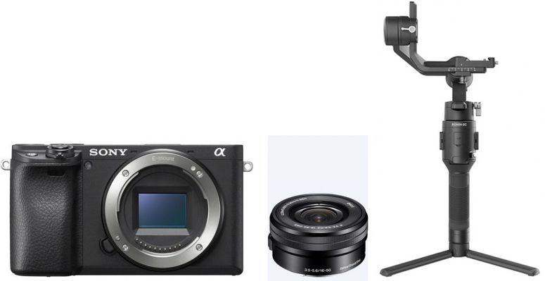Sony Alpha ILCE-6400 + 16-50mm OSS + DJI Ronin SC