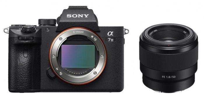 Sony Alpha ILCE-7 III (ILCE7M3) + FE 50mm f1,8 Prime