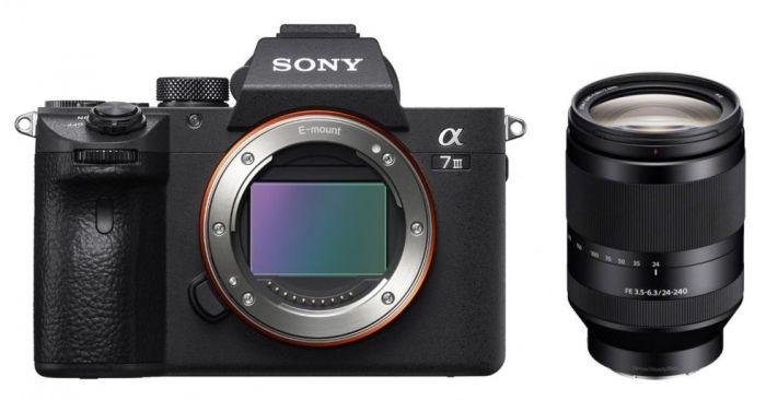 Sony Alpha ILCE-7 III (ILCE7M3) + SEL FE 24-240mm f3,5-6,3 OSS