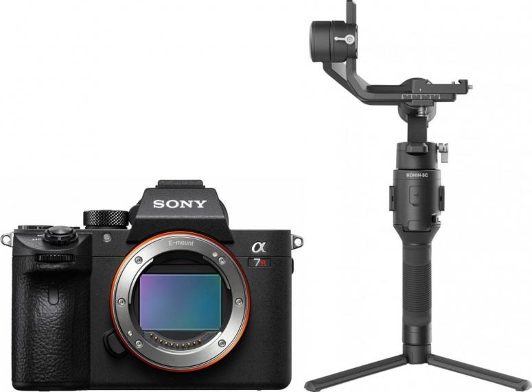 Sony Alpha ILCE-7R IVA + DJI Ronin SC