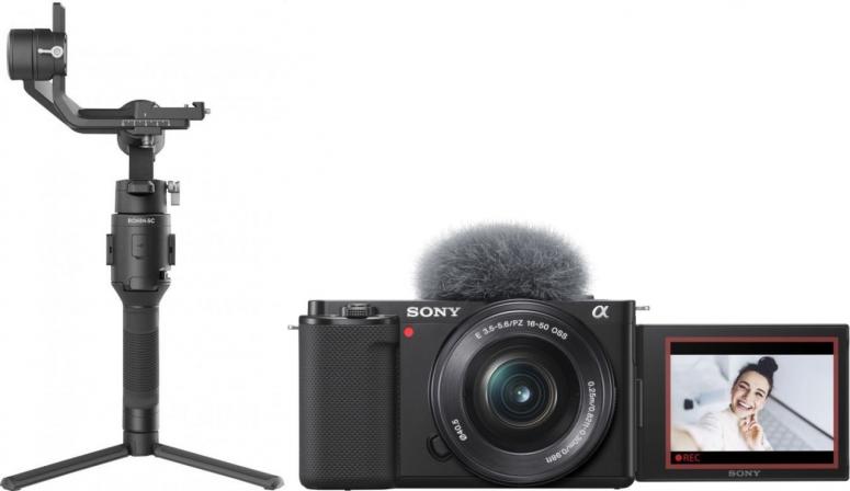 Sony Alpha ZV-E10 + 16-50mm + DJI Ronin SC