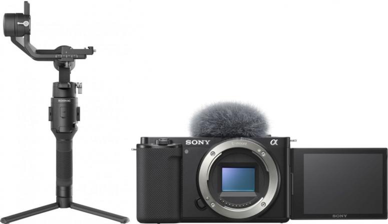 Sony Alpha ZV-E10 + DJI Ronin SC