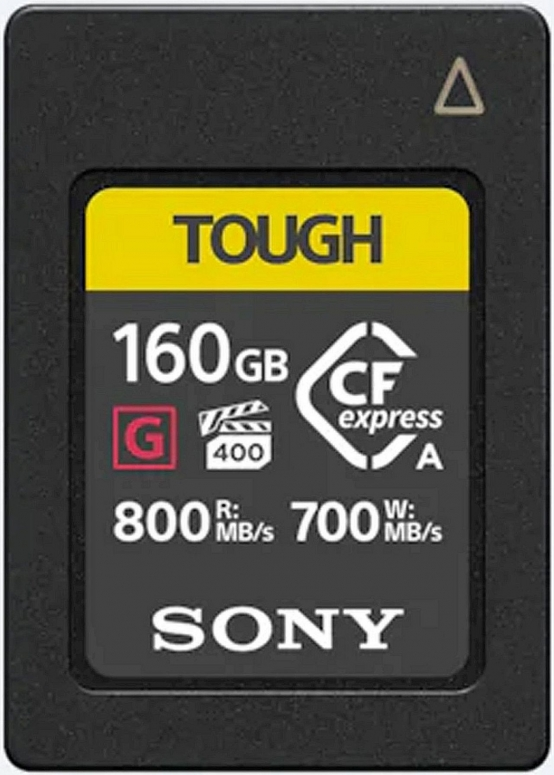 Sony CFexpress Typ A 160GB 800MBs / 700MBs