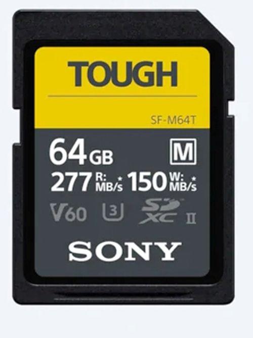 Sony SDXC-Karte 64 GB Cl10 UHS-II U3 V60 TOUGH