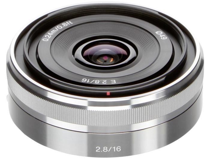 Sony SEL 16mm 1:2,8 silber