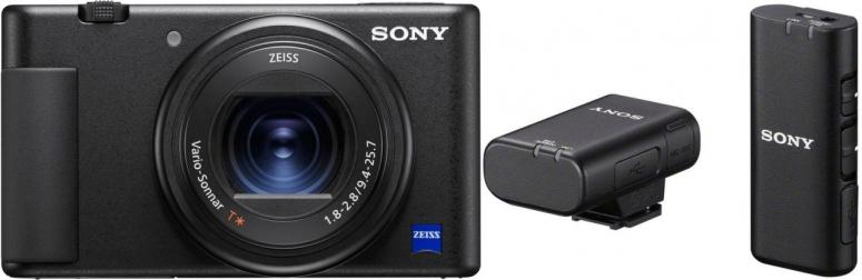 Sony Vlog-Kamera ZV-1 + ECM-W2BT Mikrofon