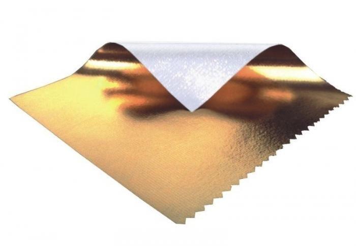 Sunbounce PRO Bespannung Gold  - Rückseite Weiss (nahtlos)