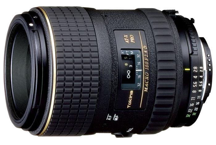 Tokina AT-X 100mm 1:2,8 AF Makro D Canon
