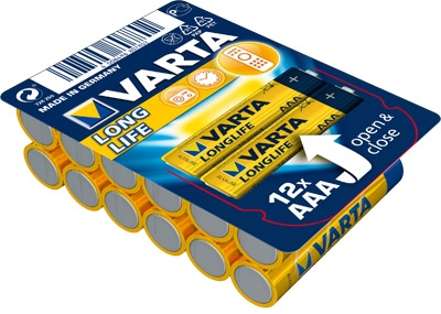 Varta 4103 Longlife AAA/LR3 12er Pack