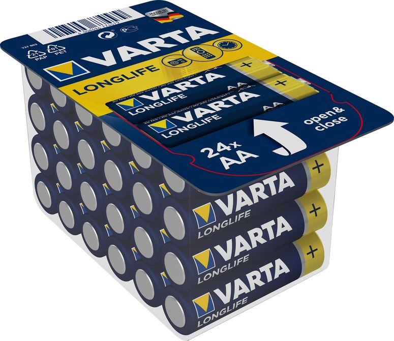 Varta Longlife Mignon AA/LR6 24er Pack